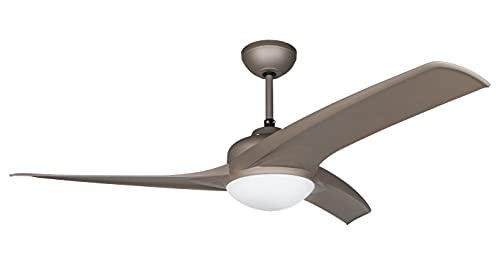 Orbegozo CP 93105 - Ventilador de techo con luz, mando a distancia, 105 cm de diámetro, 3 velocidades de ventilación,...