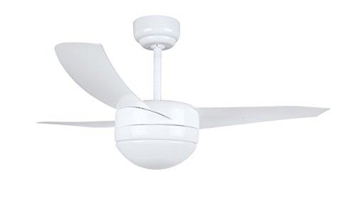 Orbegozo CP 88105 - Ventilador de techo con mando a distancia y luz, 3 palas, 105 cm de diámetro, potencia de 60 W y 3...