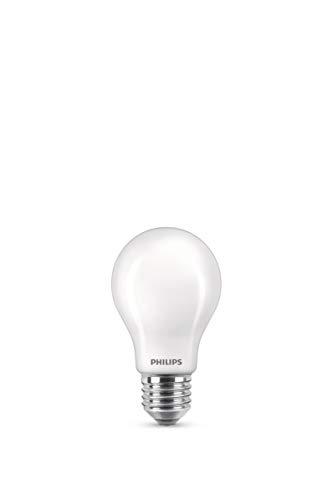 Philips LED Classic Bombilla, 40 W, Estándar A60 E27, Mate, Luz Blanca Cálida, No Regulable, Pack de 2 Unidades