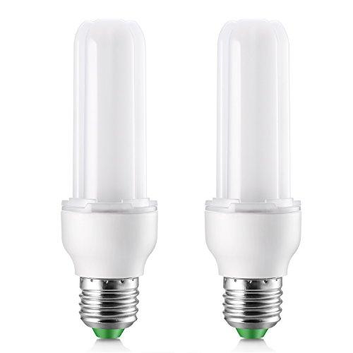 Bombilla LED E27 luz calida, Elrigs 9W LED Tubular Equivalente a 100W Halógenas o 18W Bombillas bajo consumo, 3000K...