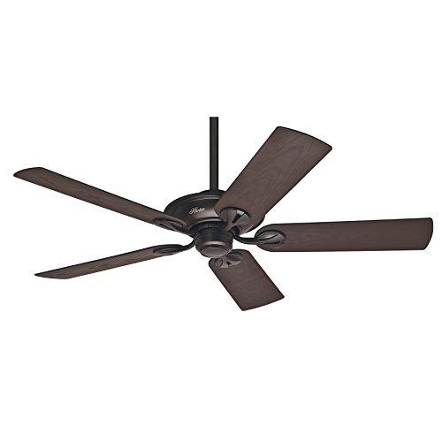 Hunter Fan Maribel Ventilador de techo diseñado para exterior, 63 W, Aluminio, 3 Velocidades, Bronce