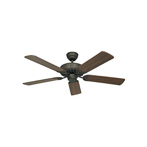 Ventilador de techo CasaFan 510313 CLASSIC ROYAL 103 nogal o mimbre/marron