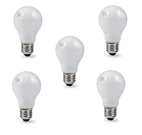 AcornSolution Paquete de 5 bombillas incandescentes de 40 W 240 V con rosca E27 [clase energética E]