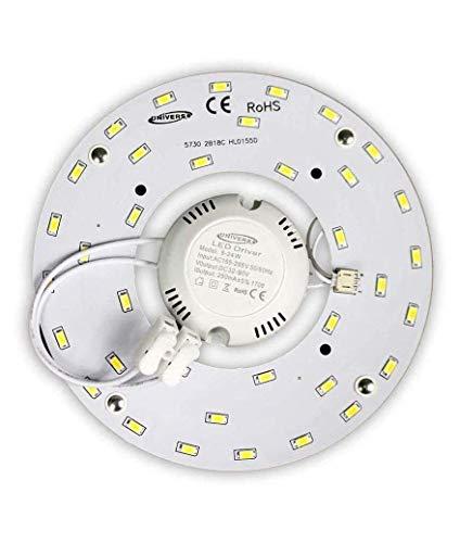 Circulina LED Corona 16 W SMD 5730 módulo de repuesto circular tubo neón para plafones de imán 220 V Ultra Slim...