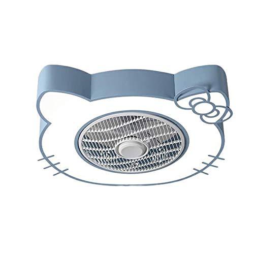 QJUZO Ventilador de Techo Silencioso con Luz y Mando a Distancia, Reversible Ventilador LED Luz, Control Remoto...