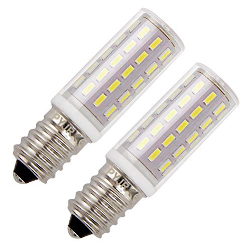 Bombillas campana extractora, PYJR E14 LED 5W equivalente incandescente de 50W, Blanco Frío 6000K 100-240V, pequeña y...