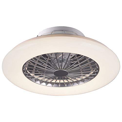 Ventilador Techo con Luz y Mando a Distancia Iluminacion Led Velocidad del Viento Regulable Control Remoto Moderna...