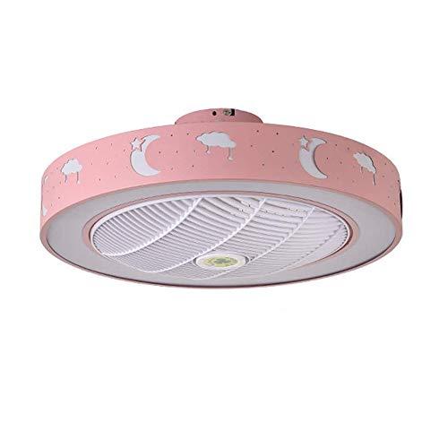 PPAMZ Ventilador de Techo con Mando a Distancia y Luz, 3 Palas, 59cm de Diámetro, Potencia de 80W y 3 Velocidades,...