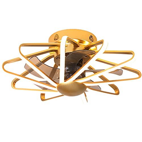 RUIXINBC Techo del LED Ventilador con Iluminación, Ajustable Velocidad De La Luz Ajustable Ventilador De Techo con...