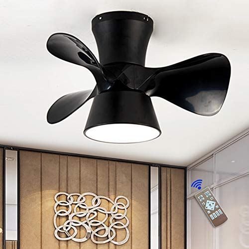 Ventilador De Techo Con Luz Led, Velocidad Del Viento Ajustable, Regulable Con Control Remoto, 36W Moderna Lámpara De...
