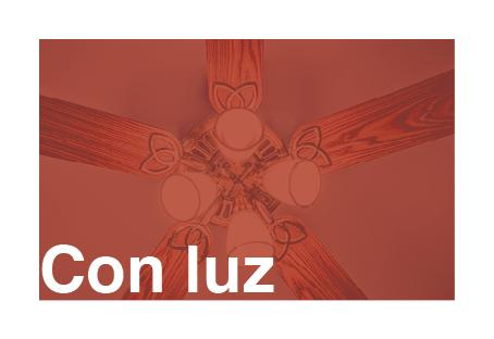ventilador de techo con luz o lámpara ventilador