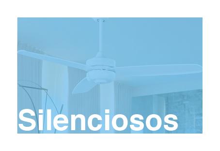 Ventiladores de techo ultra silenciosos