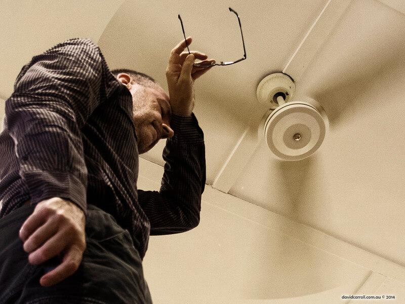 por qué refrescan los ventiladores de techo