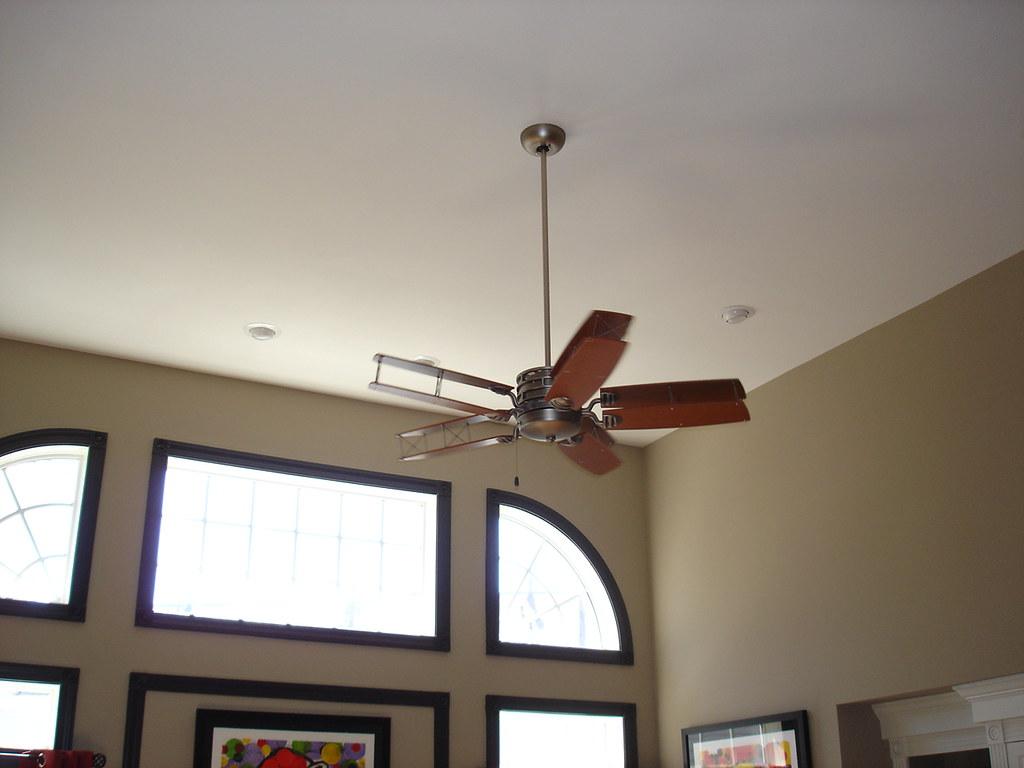 ventilador para techos altos