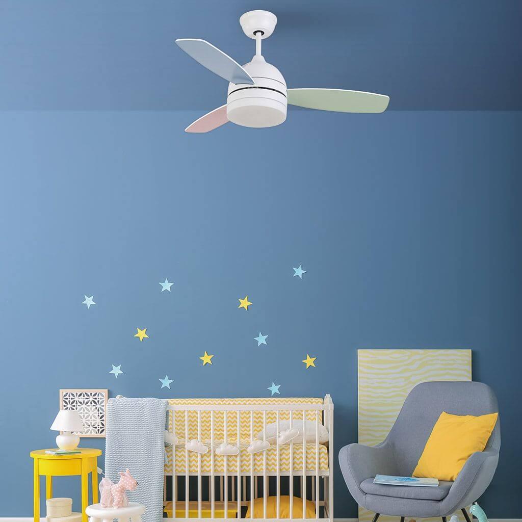 ventilador de techo infantil