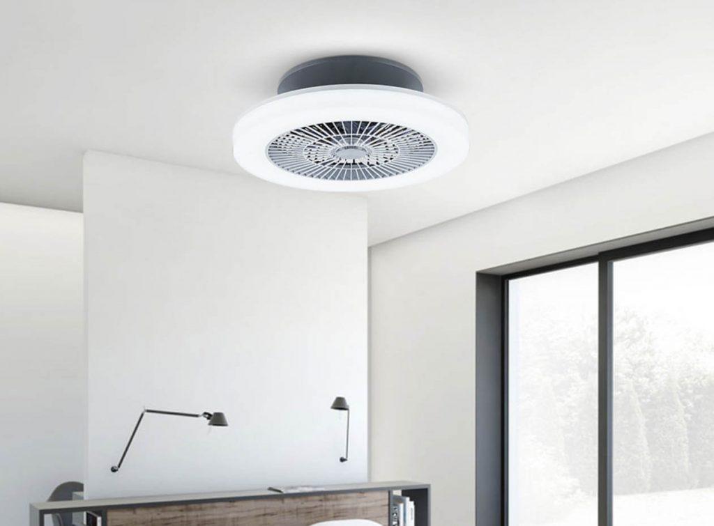 mejores ventiladores de techo sin aspas