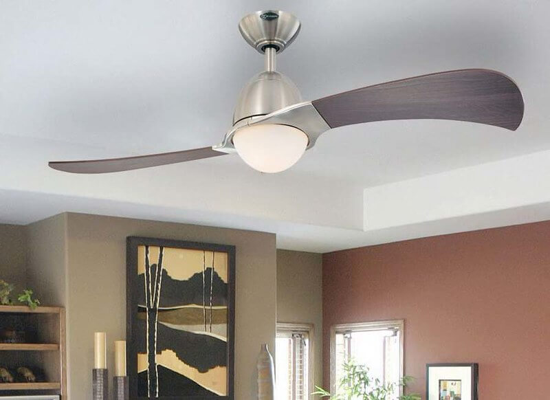 ventiladores de techo con luz modernos
