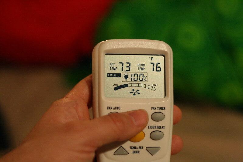 ventiladores de techo con mando a distancia