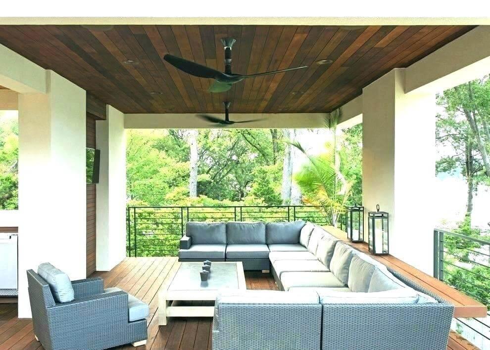 ventiladores de techo para terrazas, balcones y espacios exteriores