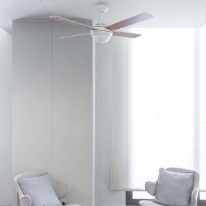 opiniones ventilador de techo Mini Icaria de Faro Barcelona